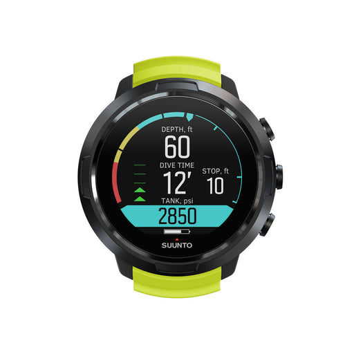Suunto D5 Black Lime with USB Cable Computer / Lime / Black
