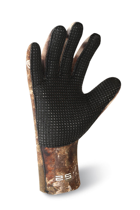 Omer Holo Stone 2.5mm Gloves / Brown Camo / Black / L