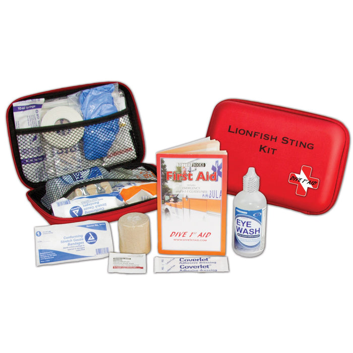 Dive 1st Aid Lion Fish Sting Kit / Red / Black
