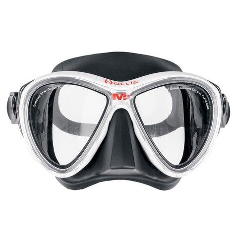 Hollis M-3 Mask / White / Black