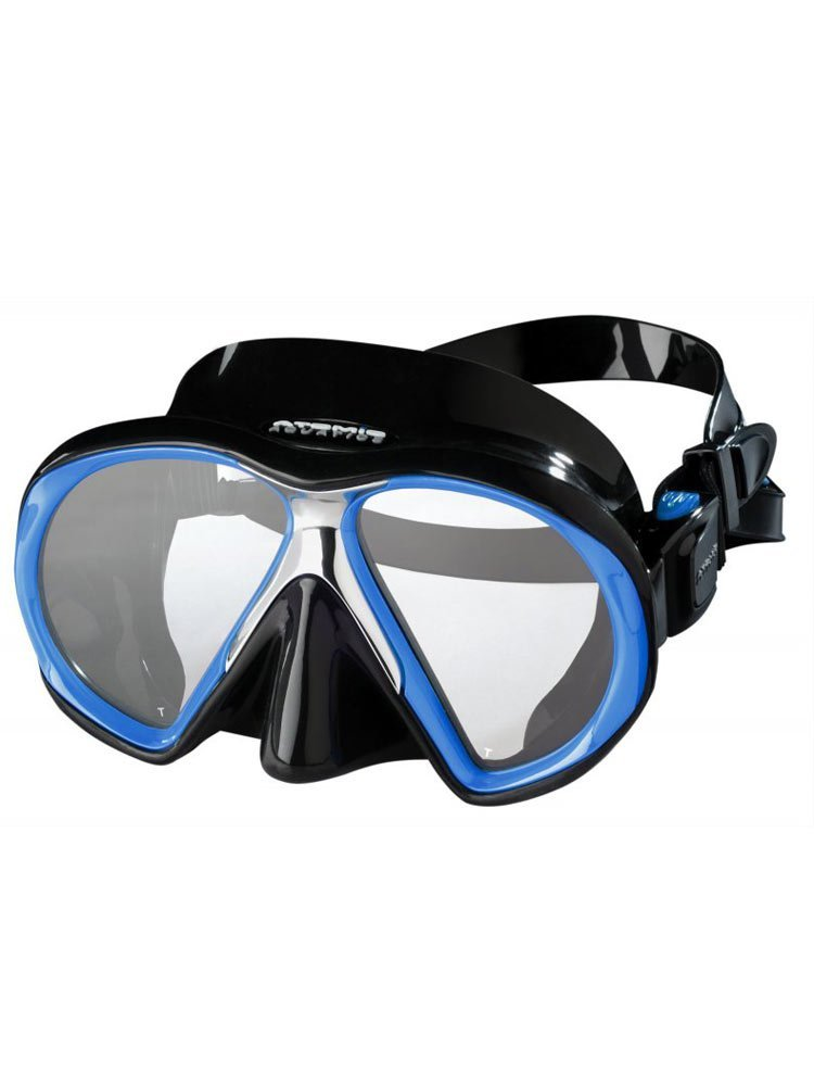 Atomic Subframe Masks / Black / Royal Blue - Dive Toy
