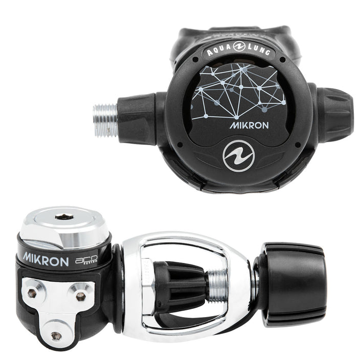 Aqua Lung Mikron ACD- Yoke Regulator / Black / Silver - Dive Toy