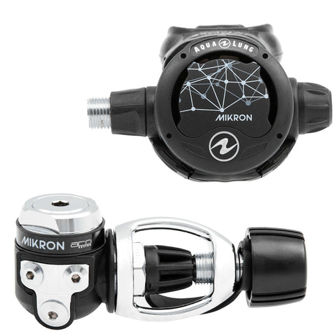 Aqua Lung Mikron ACD- Yoke Regulator / Black / Silver