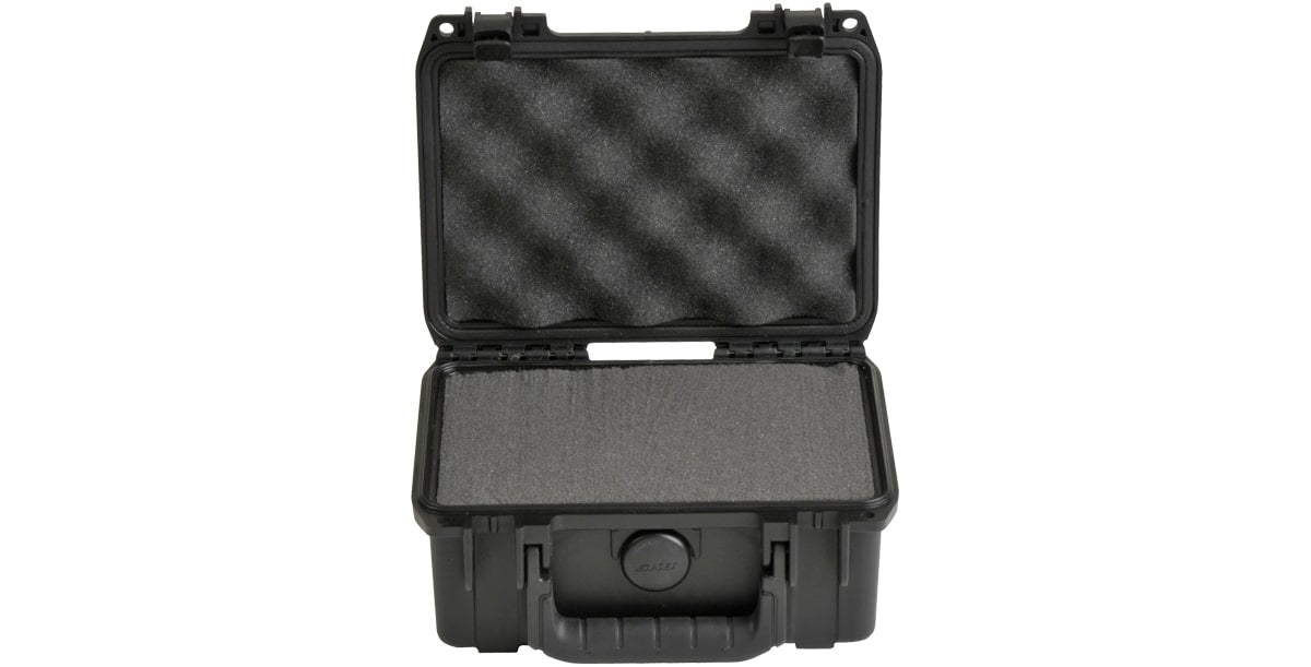 SKB Corporation iSeries 0705-3 Waterproof Case (with cubed foam) Box / Black / 7.50'' X 5.00'' X 3.25