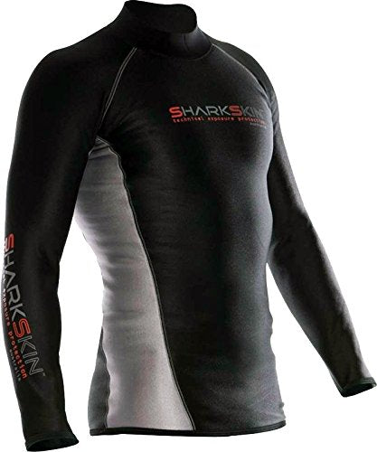 Sharkskin Chillproof Top Wetsuit / Black / L