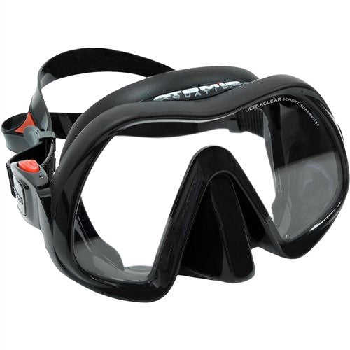Atomic Venom Frameless Mask / Black - Dive Toy