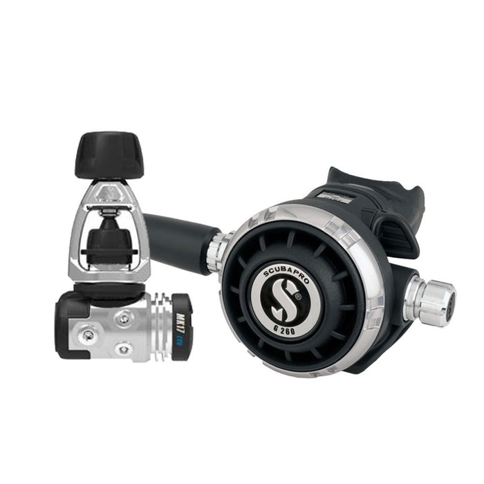 ScubaPro Mk17 Evo/G260 Regulators / Black