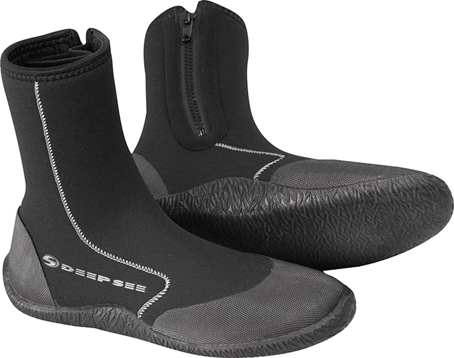 Deep See Atlantic 5mm Boot / Black / 6 - Dive Toy