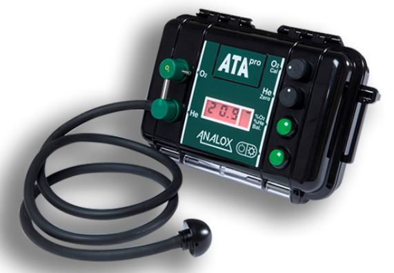 Analox ATA Pro Trimix Analyser Accessory / Green / Black