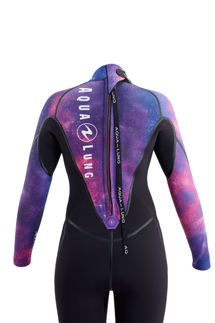 Aqua Lung Aquaflex 5mm Wetsuit Women / Galaxy / Black / 8