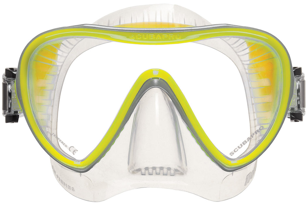 Scubapro Synergy 2  Mask / Clear / Yellow