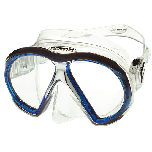 Atomic SubFrame Mask, Slim Fit, Clear / Blue