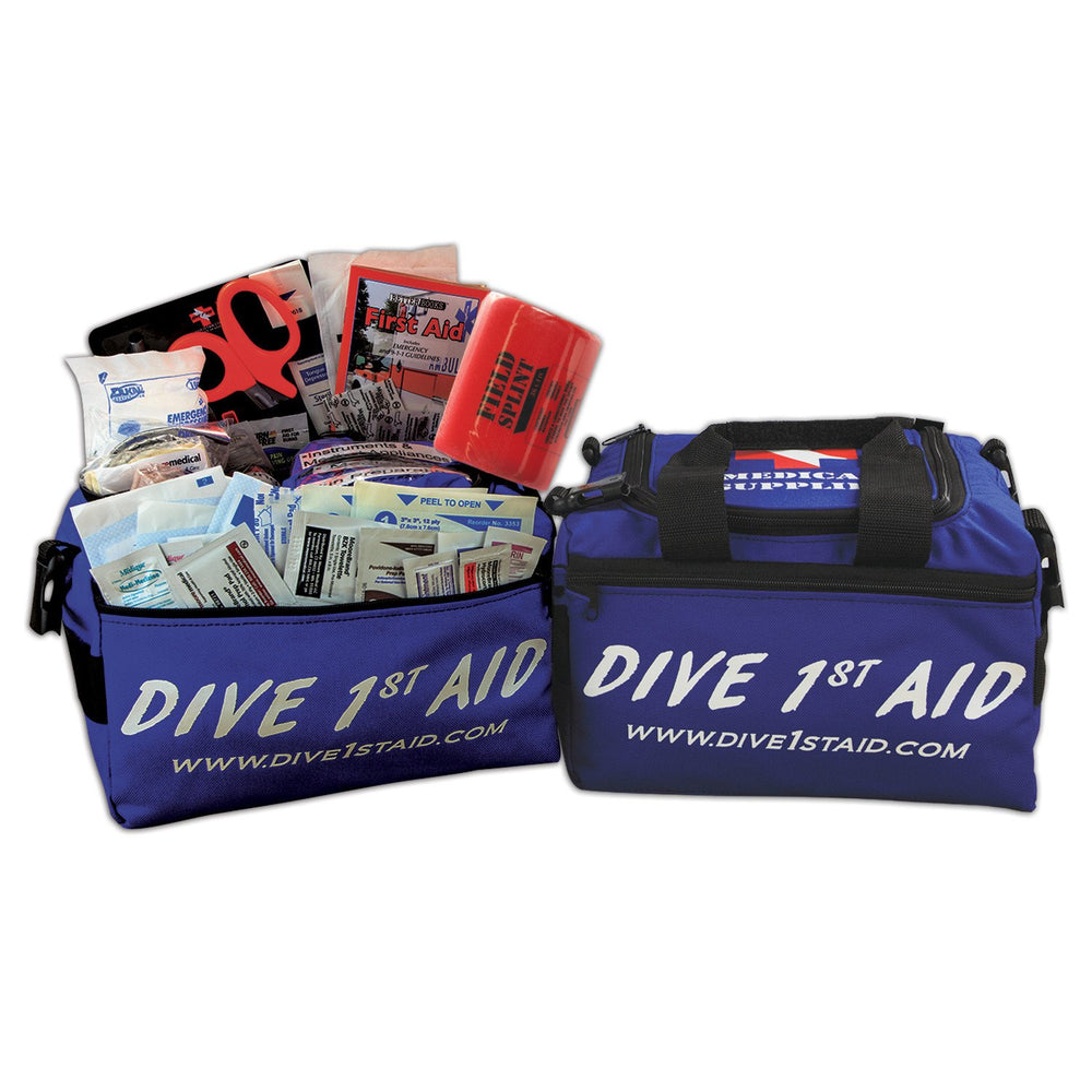 Dive 1st Aid Divemaster Kit / Blue / White