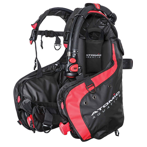 Atomic BC1 BPI BCD / Red / Black / M - Dive Toy