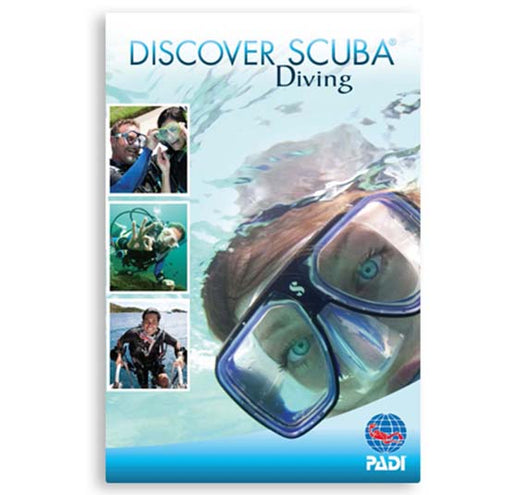 PADI Discover Scuba Diving Participant Guide Educational Material / Blue / White