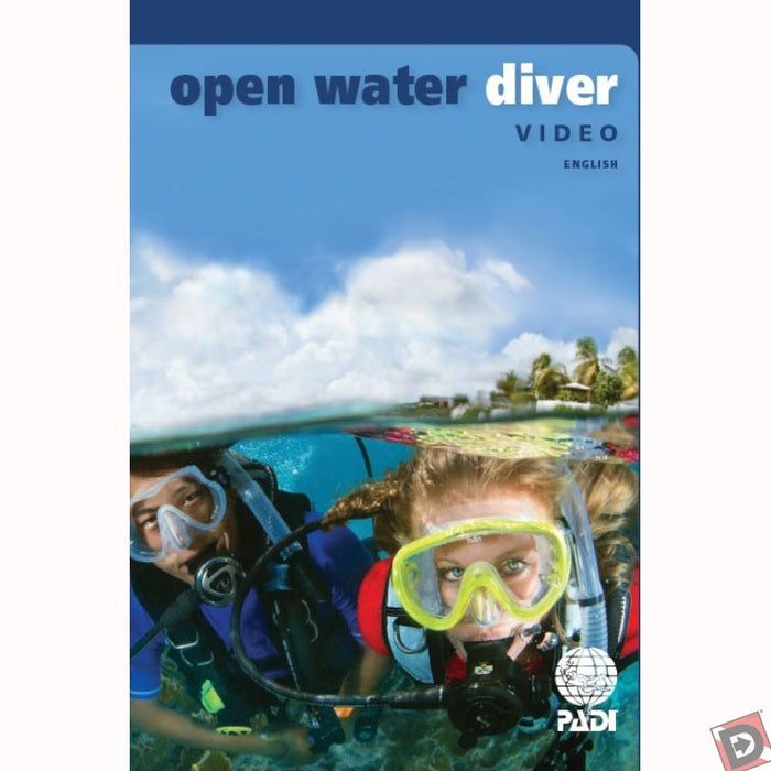 PADI Open Water Diver Multilingual DVD, Diver Edition, (E,F,S) Educational Materials