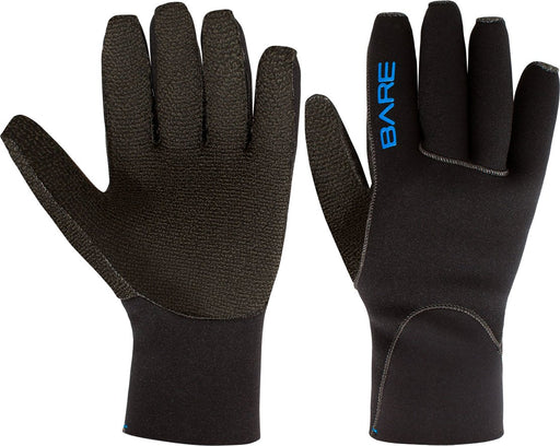 Bare K-Palm 3mm Gloves / Black / M