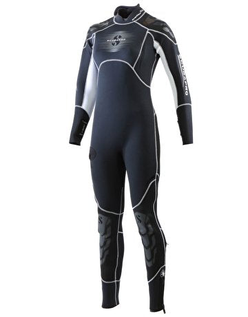 ScubaPro Everflex Steamer 5/4mm Wet Suits Womens / Black / White / S
