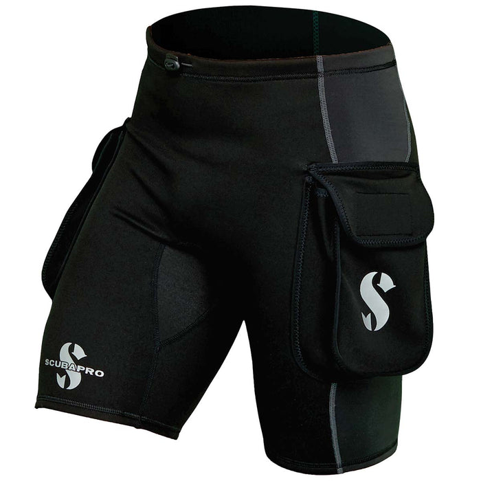 Scubapro Hybrid Cargo Short Wetsuit Accessory  / Black / 3XL