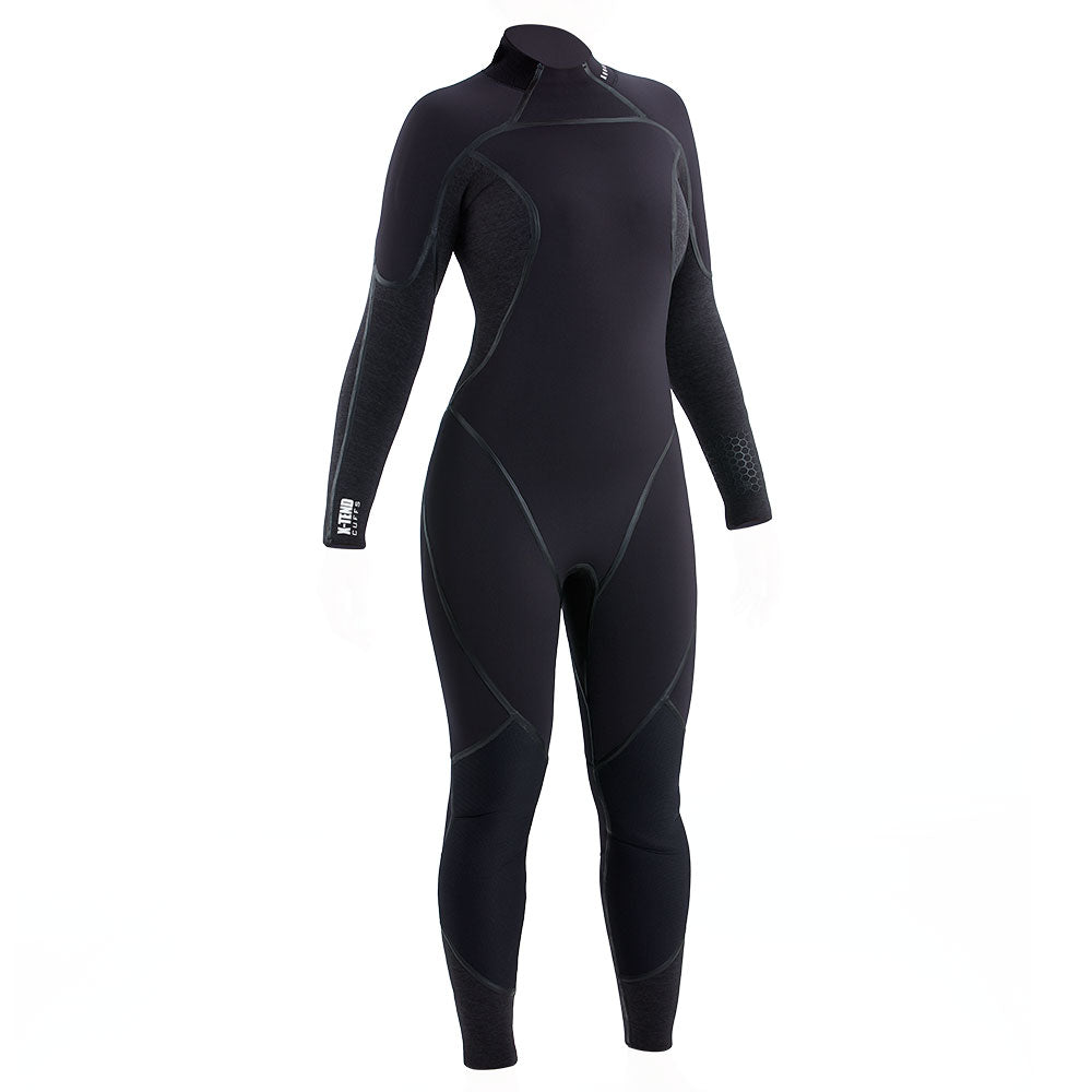 Aqua Lung Aquaflex 3mm Wetsuit Women / Charcoal / Black / 12S - Dive Toy
