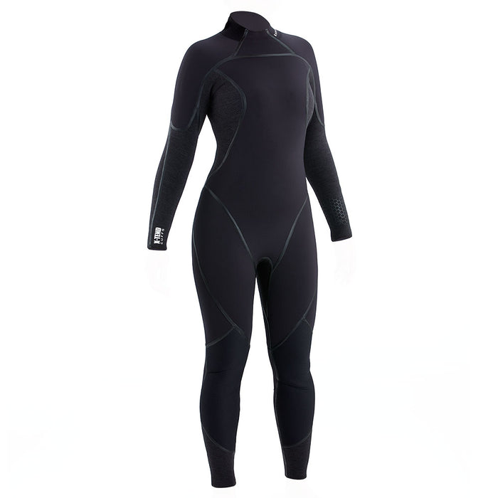 Aqua Lung Aquaflex 3mm Wetsuit Women / Charcoal / Black / 10T - Dive Toy