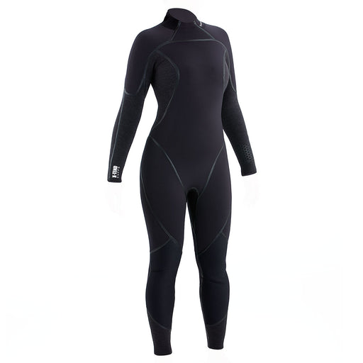 Aqua Lung Aquaflex 3mm Wetsuit Women / Charcoal / Black / 8 - Dive Toy