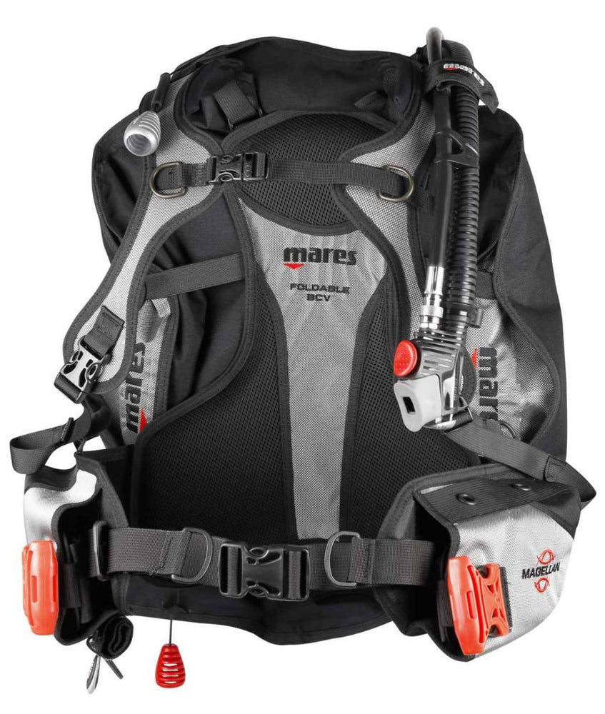 Mares Magellan BCD / Gray / Red / S/M