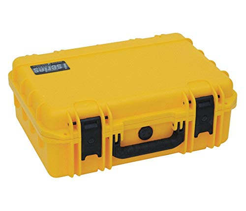 SKB Corporation iSeries 0907-4 Waterproof Case (with cubed foam) Box / Yellow