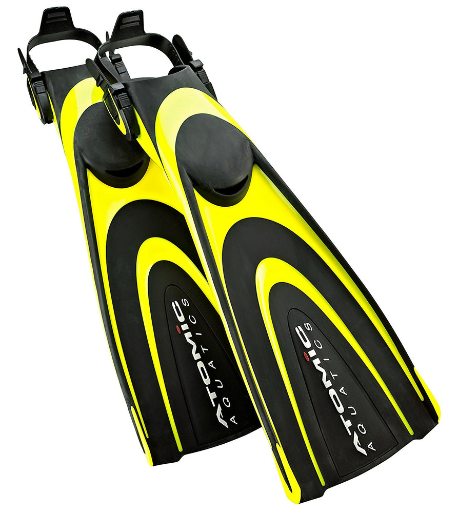 Atomic Blade Fin Fins / Yellow / Black / M - Dive Toy