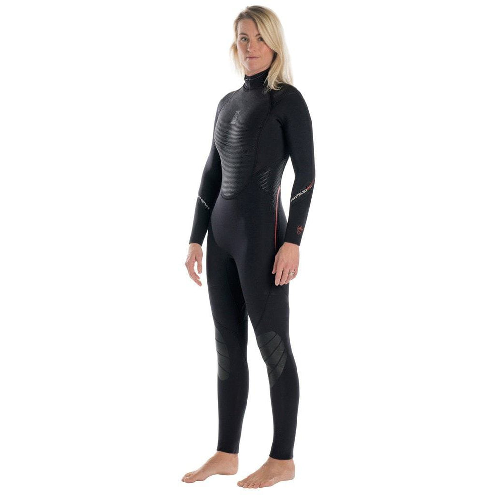 Fourth Element Proteus II 5MM Wetsuit Women / Black / Red / 8