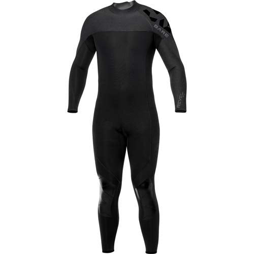 Bare 3/2mm Revel Full Mens Wetsuit / Grey / L