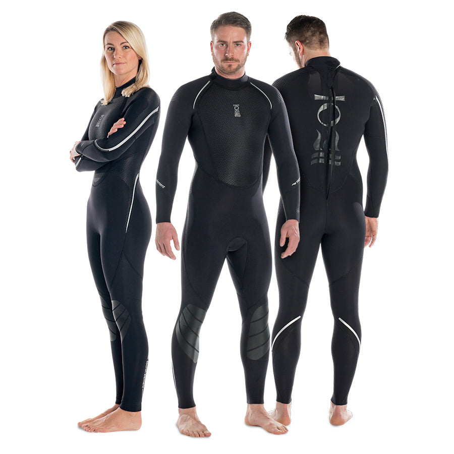 Fourth Element Proteus II 3MM Full Wet Suits Womens / Black / 8 - Dive Toy