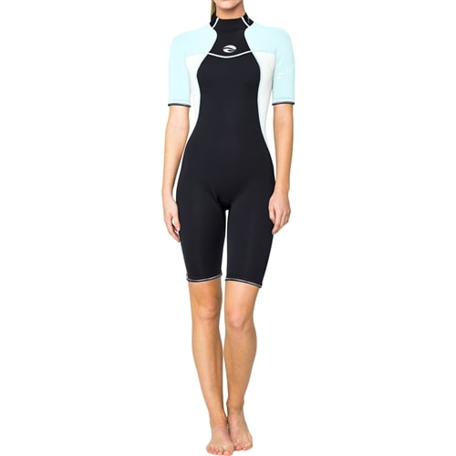 Bare 2mm Nixie  Wet Suits Womens / Black / Aqua / 14