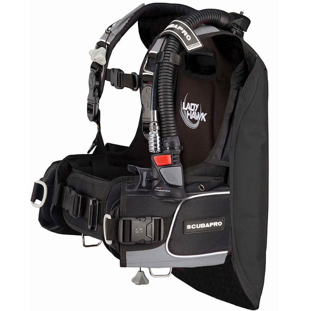 Scubapro Ladyhawk w/Air 2 5th gen. BCD / Gray / Black / S