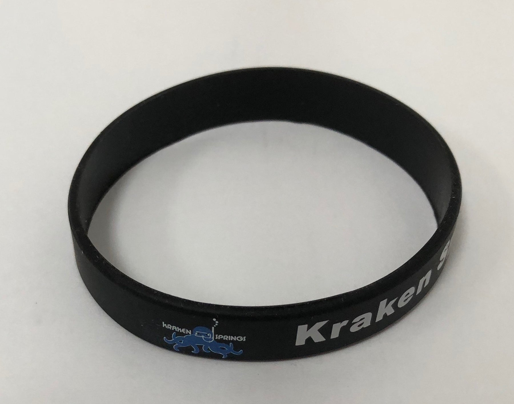 Wristband Specialty Silicone Wristbands Accessory / Black / Blue