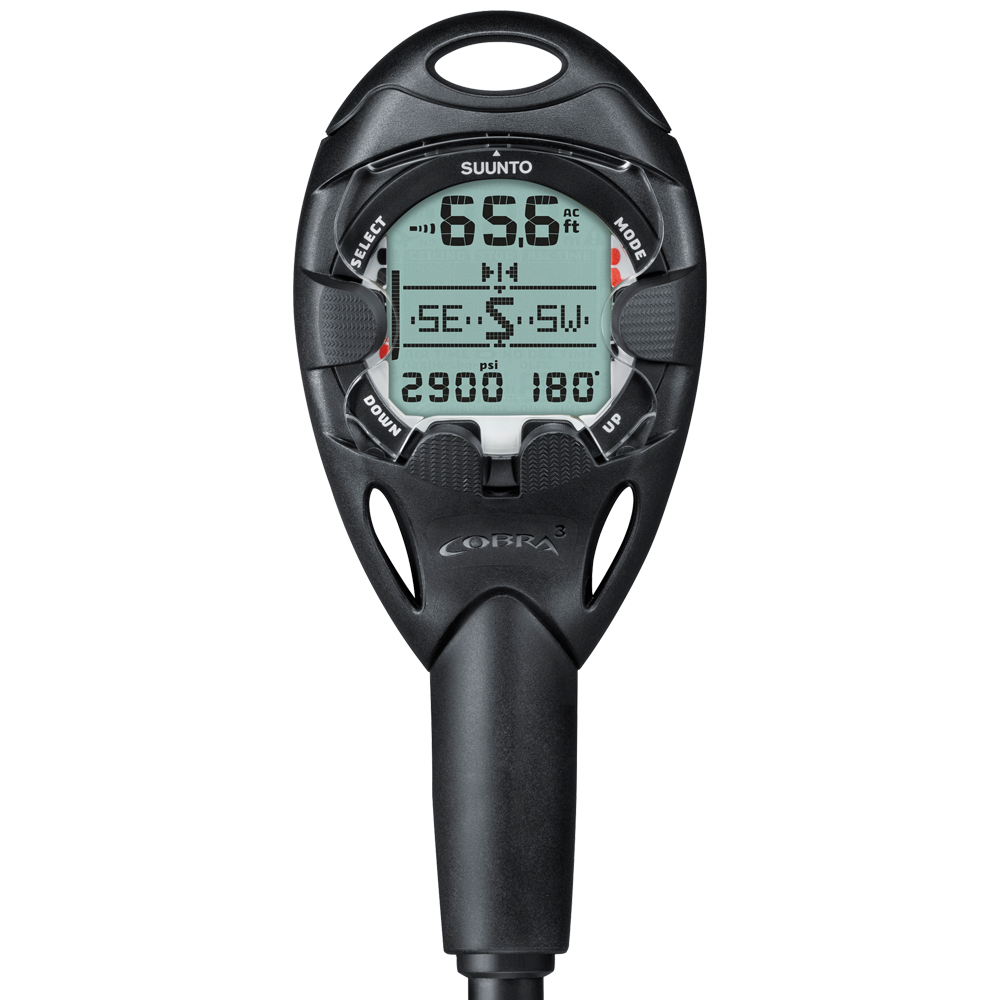 Suunto Cobra 3 with QR and USB Computers / Black