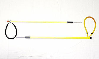 Marine Diving 1/2 Fiberglass 2' Polespear 6mm End Accessory / Yellow / Silver