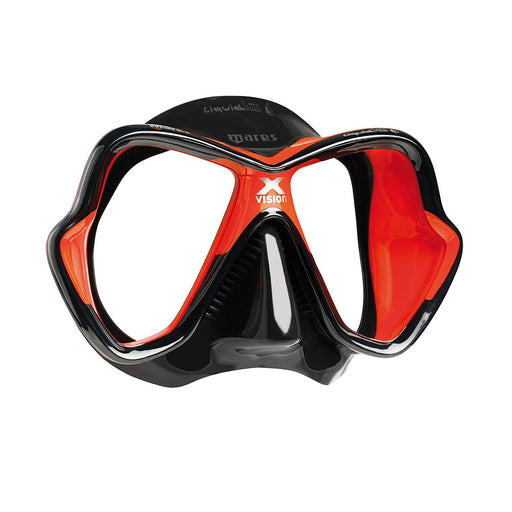 Mares X-Vision Liquidskin  Masks / Black / Red