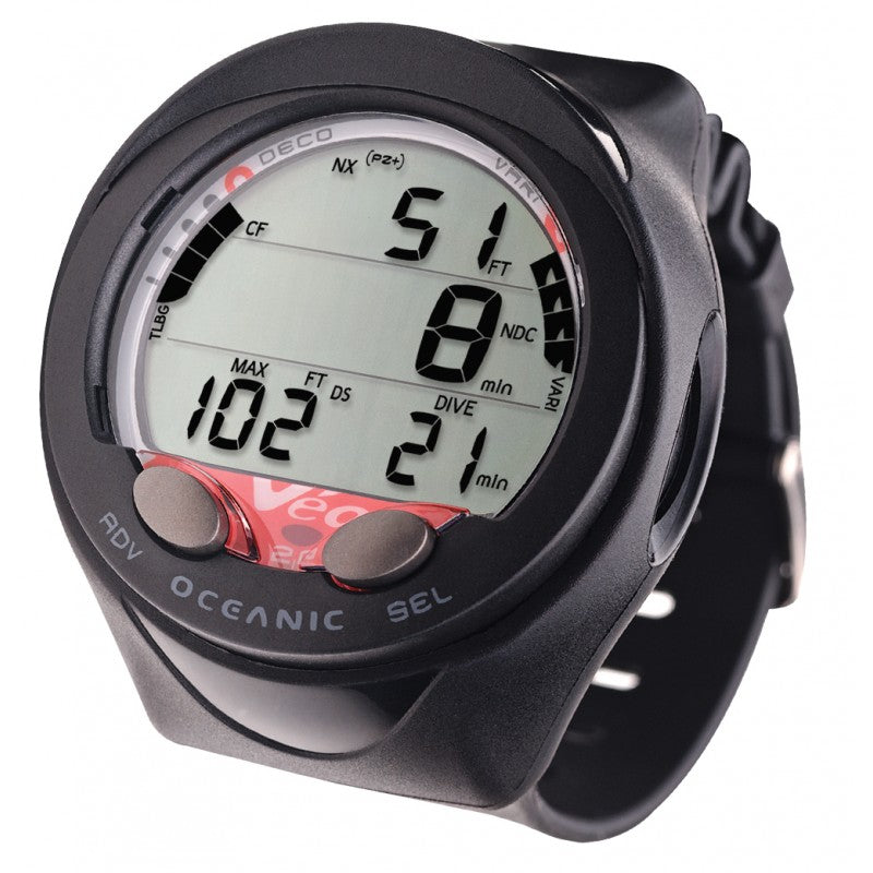 Oceanic Veo 2.0 Wrist Computer / Black / Orange