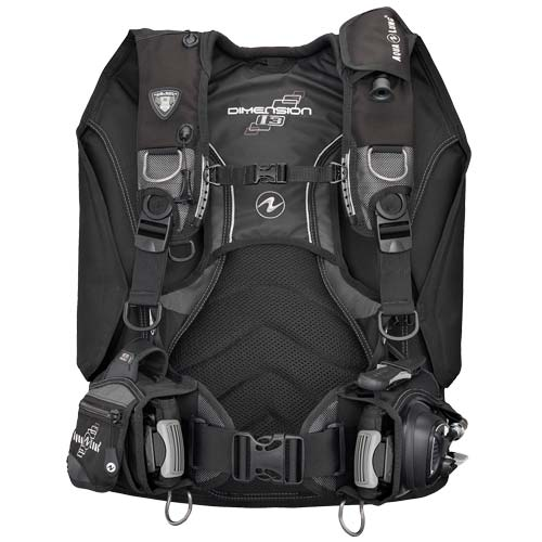 Aqua Lung Dimension i3 BCD / Charcoal / Black / M - Dive Toy