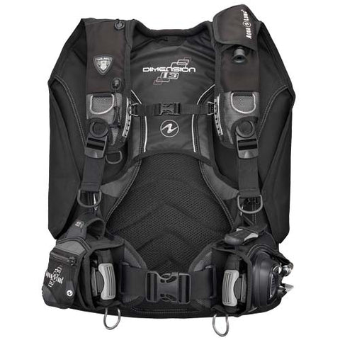 Aqua Lung Dimension i3 BCD / Charcoal / Black / ML