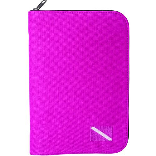 Innovative Low Profile Binder Log Book / Pink / White
