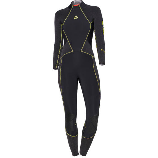 Bare 5mm Evoke Full Wetsuit Women / Black / Gray / 6