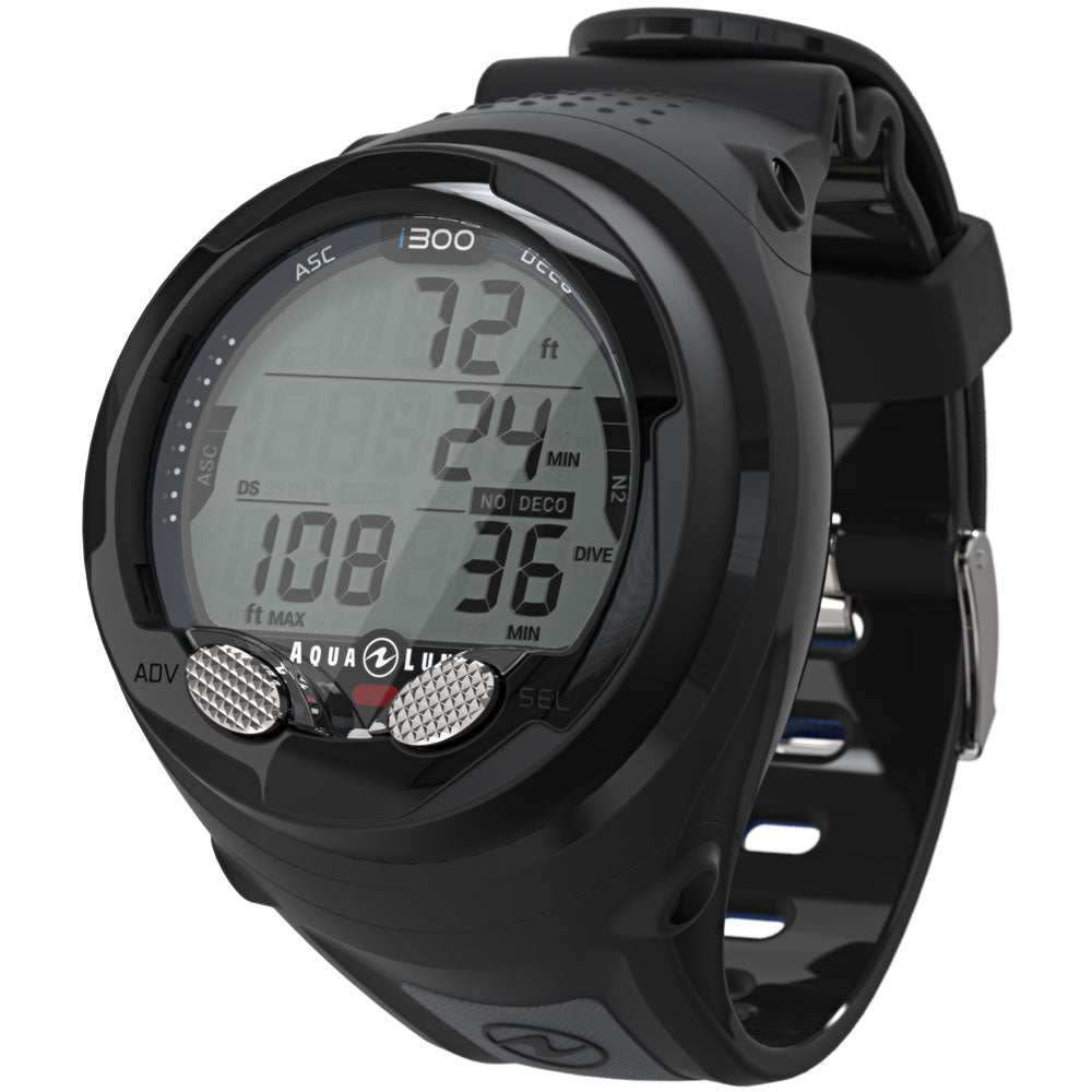 Aqua Lung I300 Wrist Computer / Black - Dive Toy