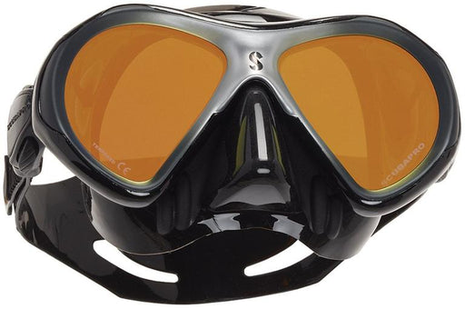 Scubapro Spectra Mini w/Mirrored Lens Mask / Silver / Black