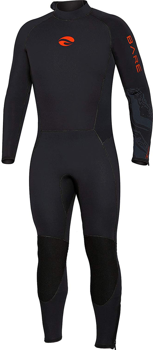 Bare 5mm Velocity Ultra  Wetsuit / Red / Black / L