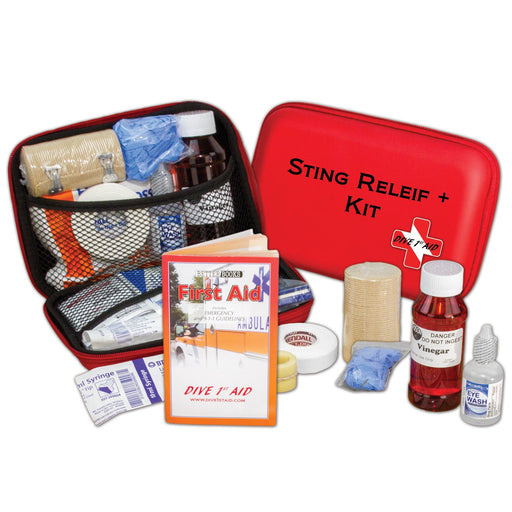 Dive 1st Aid Sting Relief+ / Red / Black