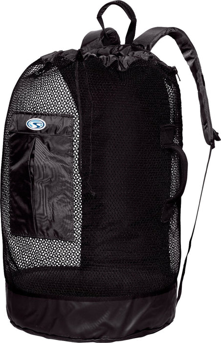Stahlsac Bonaire Mesh Backpack Bags / Black