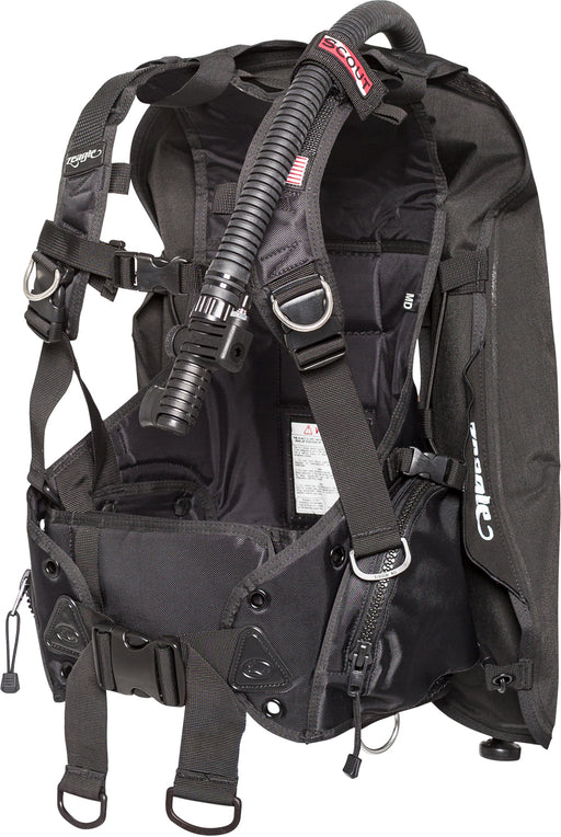 Zeagle Scout,w/inflator, hose and RE valve BCD / Black / M