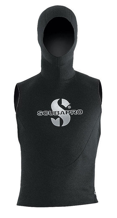 ScubaPro Hooded Vest 5mm Wet Suits Unisex / Black / M